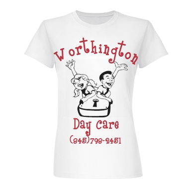 Worthington Day Care Junior Fit Basic Bella Favorite Tee