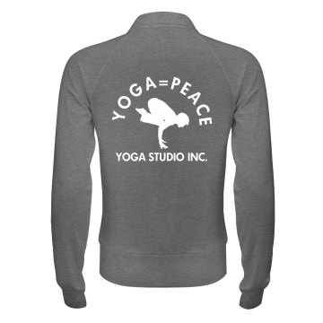 Yoga Studio Jacket Junior Fit Bella Cadet Full Zip Track Jacket