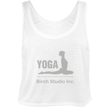 Yoga Studio Tank Bella Flowy Boxy Lightweight Crop Top Tank Top