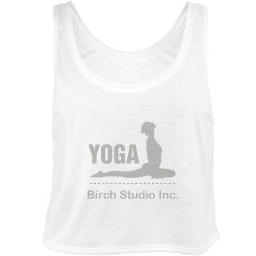 Yoga Studio Tank Bella Flowy Boxy Lightweight Crop Top Tank Top