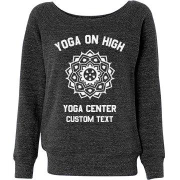 Yoga Studio Tee Misses Rela