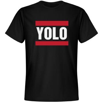 YOLO Unisex Anvil Lightweight Fashion Tee