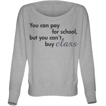 You Can Pay for School Bella Flowy Lightweight