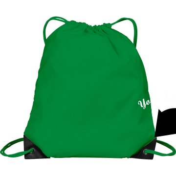 Your Design Here Port & Company Drawstring Cinch Bag