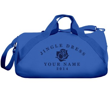 Your Jingle Dress Gear Liberty Bags Barrel Duffel Bag