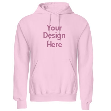 Your Pink Design Here Unisex Gildan Heavy Blend Hoodie