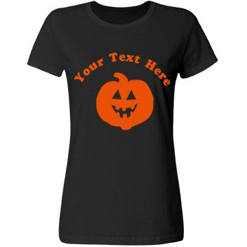 Your Text Here Pumpkin
