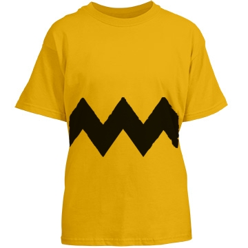 Youth Charlie Squiggle Youth Gildan Heavy Cotton Crew Neck Tee