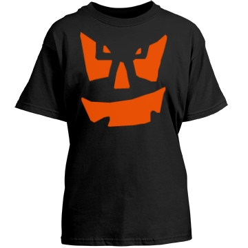 Youth Pumpkin Youth Gildan Heavy Cotton Crew Neck Tee