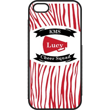 Zebra Cheer iPhone 5 Case