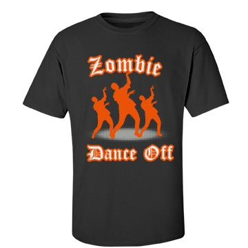 Zombie Dance Off Unisex Gildan Heavy Cotton Crew Neck Tee