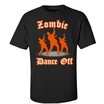 Zombie Dance Off Unisex Port & Company Essential Tee