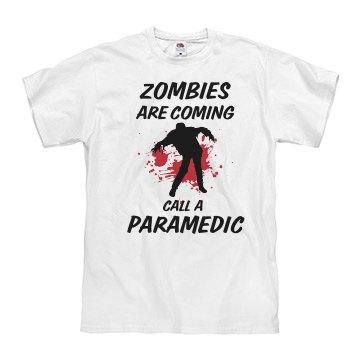 Zombie Paramedic Tee