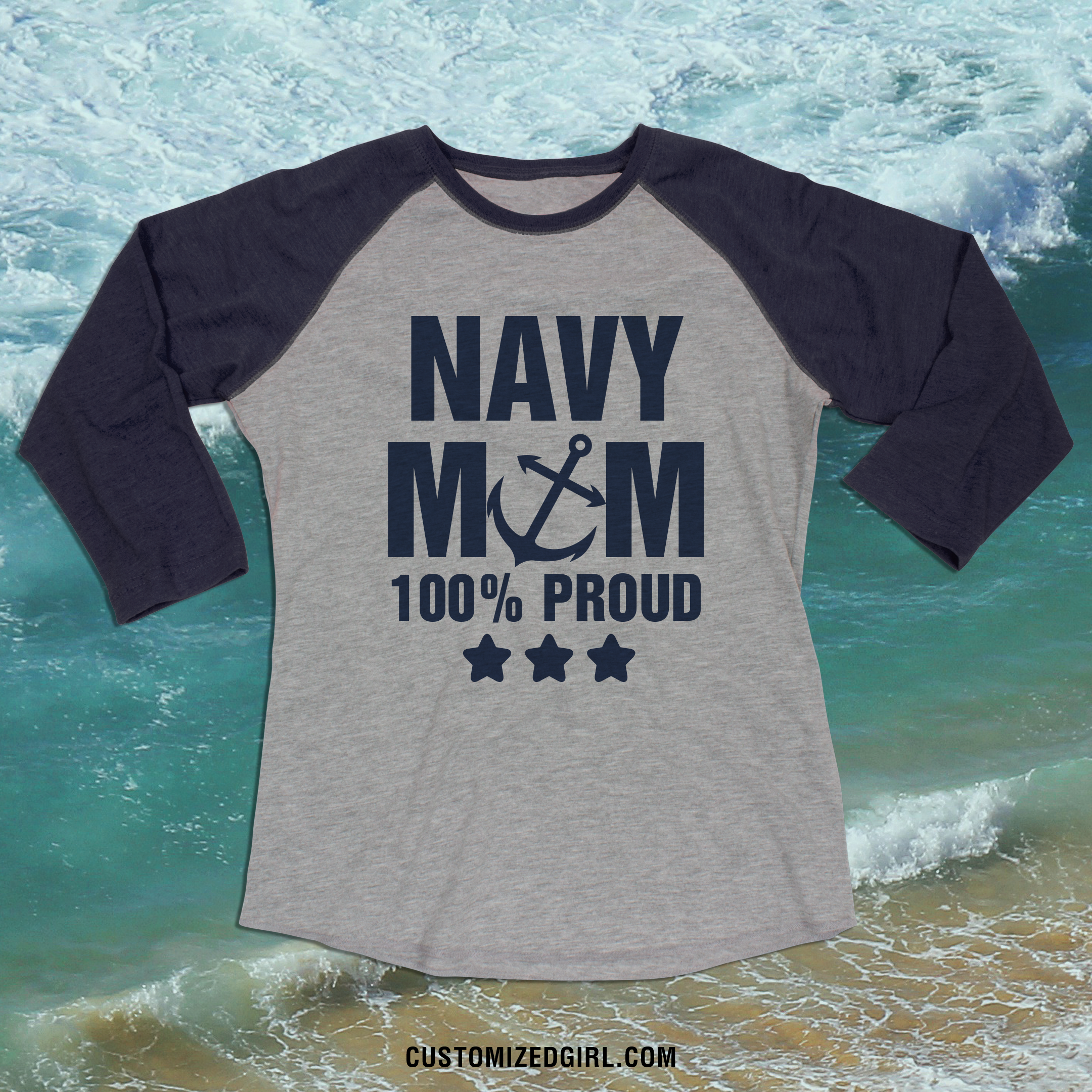 Navy Mom Shirts