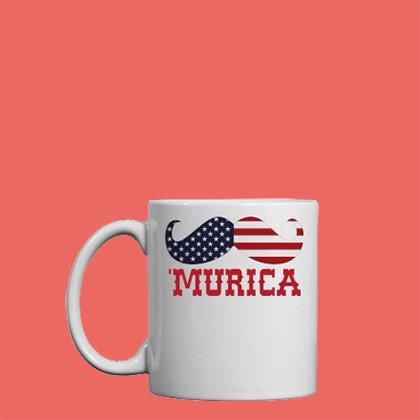 4th Of July Murica Mug