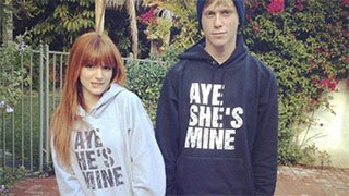 Aye He's Mine, Aye She's Mine Matching Couple Hoodies