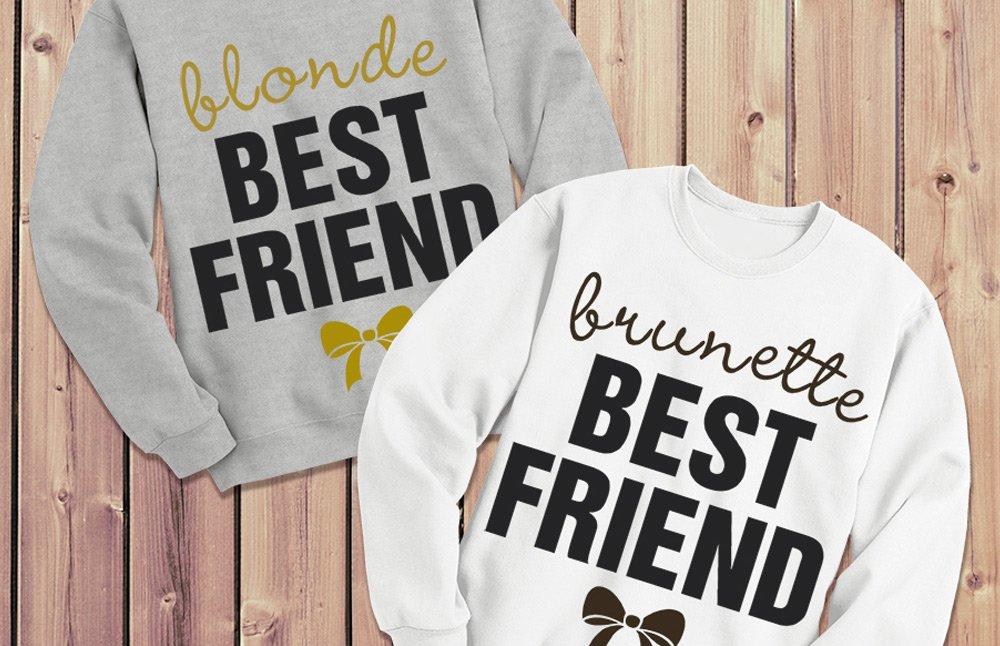 Blonde - Brunette Best Friend Shirts