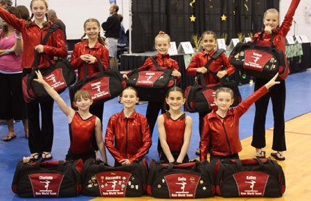 Custom Dance Bags & Gymnast Bags
