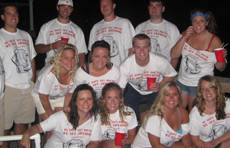 Custom White Shirts for the entire Party