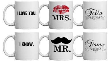 Matching Couple Mugs