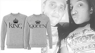 Matching King Queen Shirts